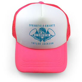 Cheerleading Trucker Hat - Personalized Crest