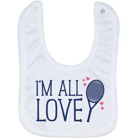 Tennis Baby Bib - I'm All Love