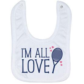 Tennis Baby Bib - I'm All Love