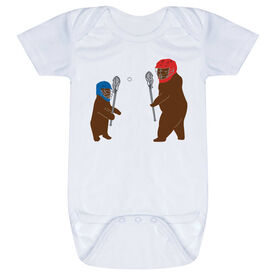 Guys Lacrosse Baby One-Piece - Bears