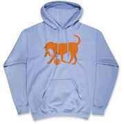 Basketball Hooded Sweatshirt - Basketball Dog