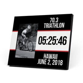 Triathlon Photo Frame - Triathlon Bib