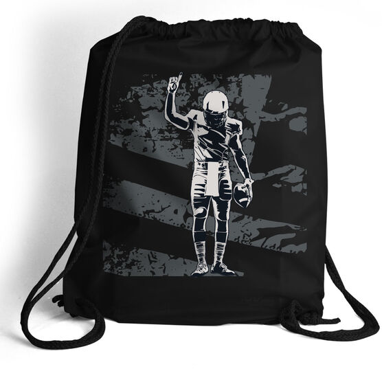 Football Sport Pack Cinch Sack Number One Player