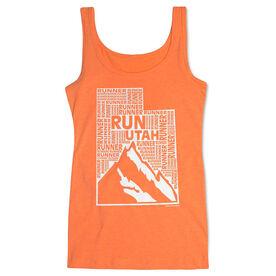 Women's Athletic Tank Top Utah State Runner