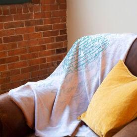 Running Premium Blanket - Makes Us Stronger
