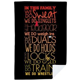 Wrestling Premium Blanket - We Do Wrestling