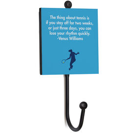 Tennis Medal Hook - Your Quote Female