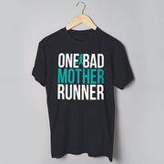 Running Short Sleeve T-Shirt - One Bad Mother Runner (Bold)