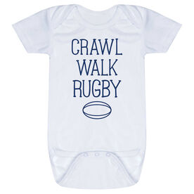 Rugby Baby One-Piece - Crawl Walk Rugby