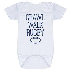 Rugby Baby One-Piece - Crawl Walk Rugby