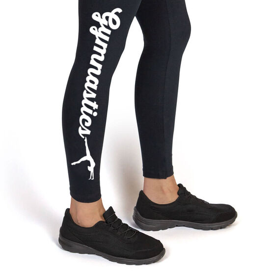 Gymnastics Leggings - Gymnastics Script