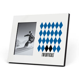 Skiing and Snowboarding Photo Frame - I'm Difficult