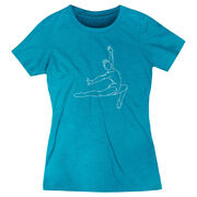 Gymnastics Women's Everyday Tee - Gymnast Sketch