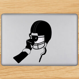 Football Victory Helmet Removable ChalkTalkGraphix Laptop Decal