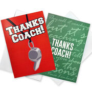 Add a Thanks Coach Card