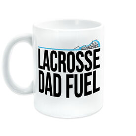 Girls Lacrosse Coffee Mug - Lacrosse Dad Fuel