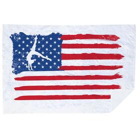 Gymnastics Premium Blanket - American Flag