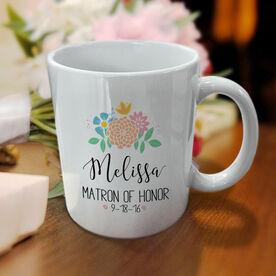 Wedding Party - Matron of Honor Personalized Coffee Mug
