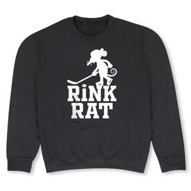 Hockey Crew Neck Sweatshirt - Rink Rat