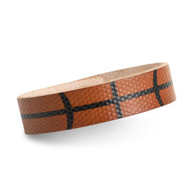 Authentic Basketball Leather Bracelet