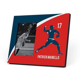Baseball Photo Frame - Personalized Pitcher