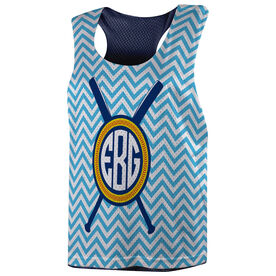 Softball Racerback Pinnie - Monogram
