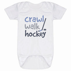 Hockey Baby One-Piece - Crawl Walk Hockey