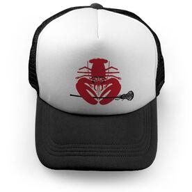 Girls Lacrosse Trucker Hat - Lax Lobster
