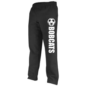 Soccer Fleece Sweatpants Soccer Team Name