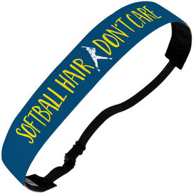 Softball Juliband No-Slip Headband - Softball Hair Don't Care