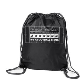 Football Sport Pack Cinch Sack - 24-7 Football