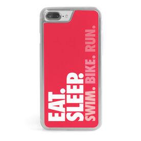Triathlon iPhone® Case - Eat. Sleep. Swim. Bike. Run