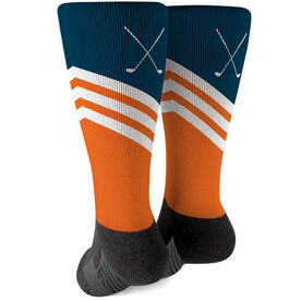 Golf Printed Mid-Calf Socks - Classic Style