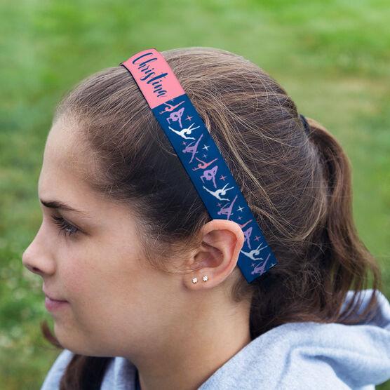 Gymnastics Julibands No-Slip Headbands - Personalized Gymnastics Pattern