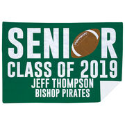 Football Premium Blanket - Personalized Senior Class Of