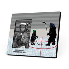 Hockey Photo Frame - Bears