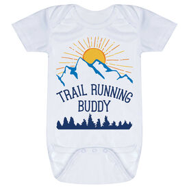 Running Baby One-Piece - Trail Running Buddy