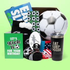 Soccer Birthday Sportzbox - Let's Kick It Birthday