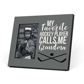 Hockey Photo Frame - Grandma's Favorite Player