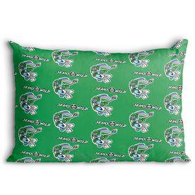 Seams Wild Lacrosse Pillowcase - Jumpin' Jack (Pattern)