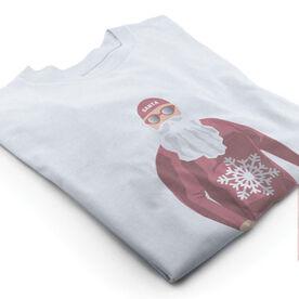 Vintage Swimming T-Shirt - Wetsuit Santa