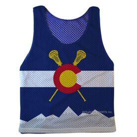 Guys Lacrosse Pinnie - Colorado