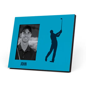 Golf Photo Frame - Male Silhouette