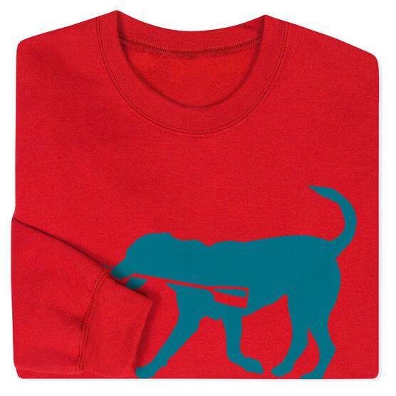Crew Crew Neck Sweatshirt - Cody The Crew Dog