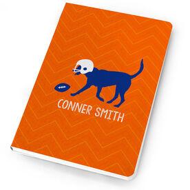Football Notebook Flip The Football Dog