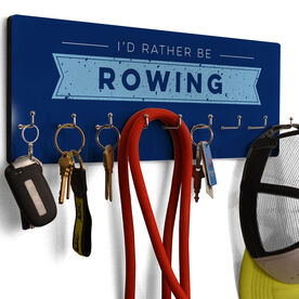 Crew Hook Board I'd Rather Be Rowing