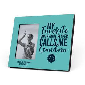 Volleyball Photo Frame - Grandma's Favorite Player