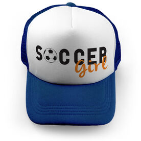 Soccer Trucker Hat Girl