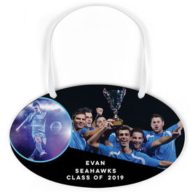 Soccer Oval Sign - Class Of Team and Player Photo