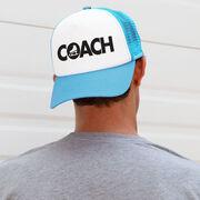 Figure Skating Trucker Hat - Coach